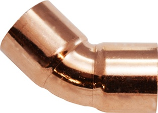 "Elbow Copper 1-1/4"" 45 Deg"