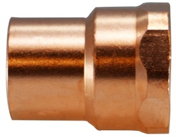 "[C12-77402] Adapter Copper 1"" x 1"" FPT"